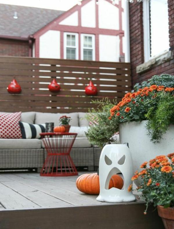 herbstbepflanzung balkon frische balkonideen herbststimmung