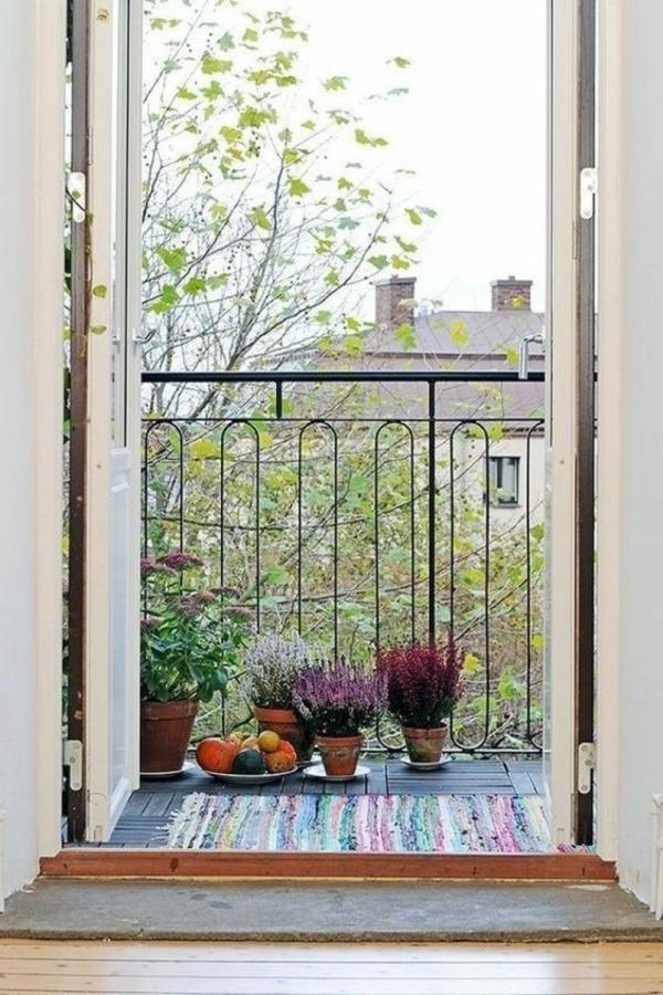 herbstbepflanzung balkon kreative dekoideen frische deko