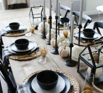 Herbstdeko Tisch – Ideen, welche die Schönheit der Saison widerspiegeln