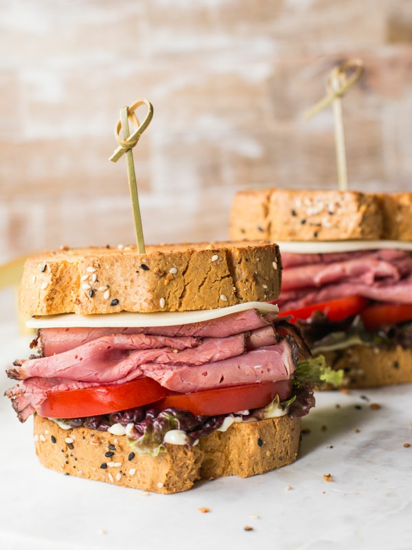 kohlenhydratarmes Rezepte Keto Brot Sandwich