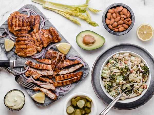 kohlenhydratarmes Rezepte Keto Diät Mahlzeiten