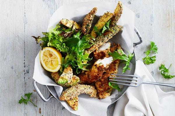 kohlenhydratarmes Rezepte Keto Gerisch mit Fisch