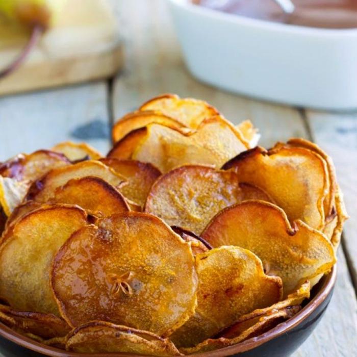 rezepte mit birenen saisoanl kochen birnenchips