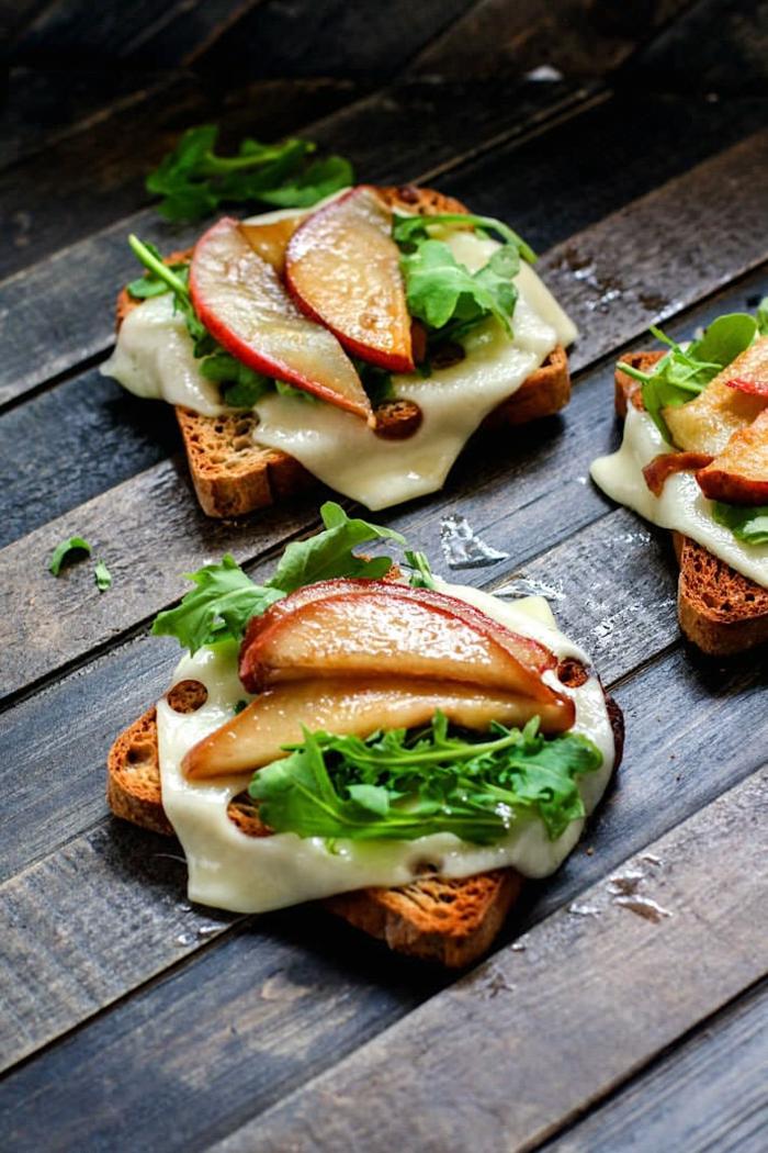 rezepte mit birenen saisoanl kochen sandwiches