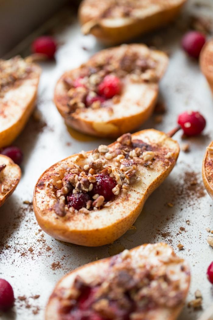 rezepte mit birenen saisoanl kochen suesse speisen