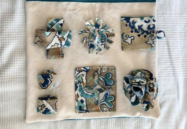 schnüffelteppich selber machen aus stoffresten