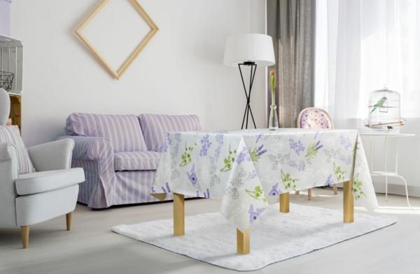 wachstuch tischdecke passendes design wohnzimmer