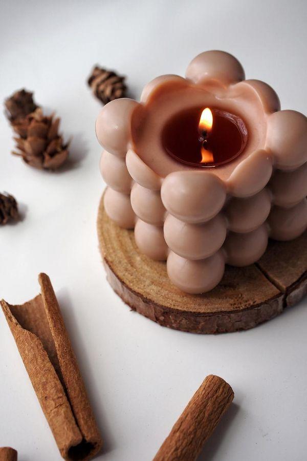Duft für den Winter Kerzen Ideen