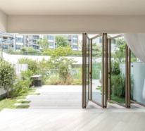 Faltfenster lassen Ihren Innenraum mit dem Außenbereich verschmelzen