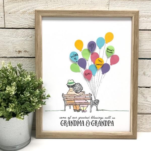 Geschenk für Opa basteln mit Kindern – liebevolle Ideen und 2 einfache DIY Anleitungen fotorahmen kunst ideen