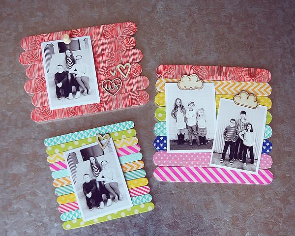 Geschenk für Opa basteln mit Kindern – liebevolle Ideen und 2 einfache DIY Anleitungen magnete ideen mit fotos