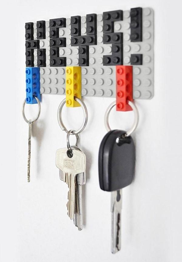 Geschenk für Opa basteln mit Kindern – liebevolle Ideen und 2 einfache DIY Anleitungen schlüssel ideen mit lego