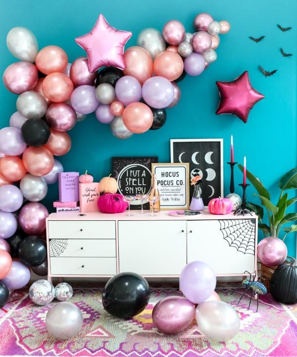 Halloween Buffet – Deko Ideen und Tipps für eine tolle Gruselparty niedliche deko feminin rosa