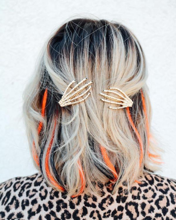 Halloween Frisuren Ideen und Tipps für ein gelungenes Grusel-Outfit schöne ideen für kurze haare