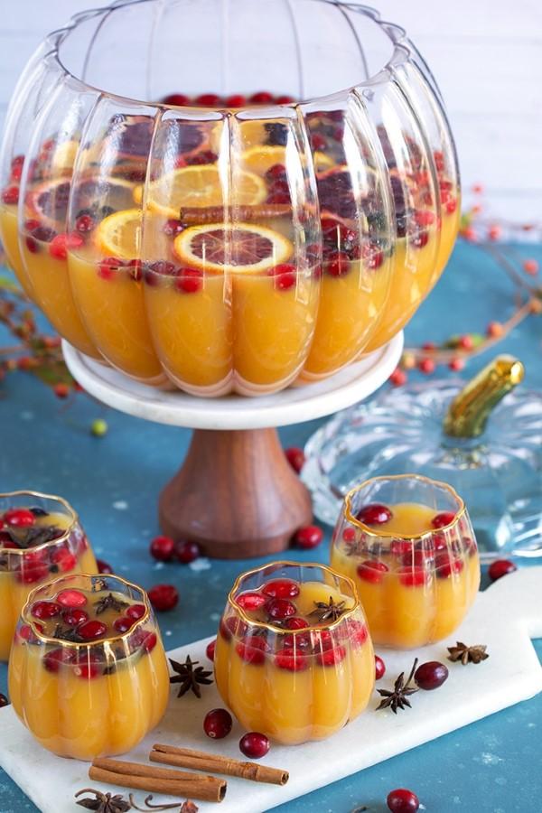 Halloween Getränke – 3 alkoholfreie Rezeptideen für eine tolle und nüchterne Party kürbis bowle punch ideen