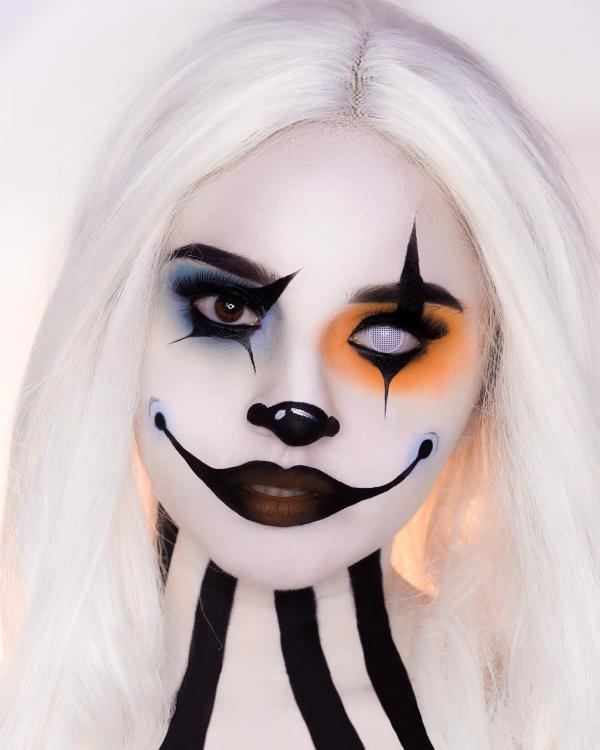Halloween Makeup Ideen und Tipps für Ihr diesjähriges Kostüm harley quinn mal anders