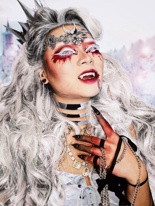 Halloween Makeup Ideen und Tipps für Ihr diesjähriges Kostüm vampir könnigin ideen