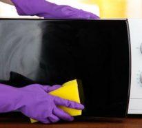 Wie kann man eine Mikrowelle reinigen? – 5 einfache Reinigungsmethoden mit Hausmitteln