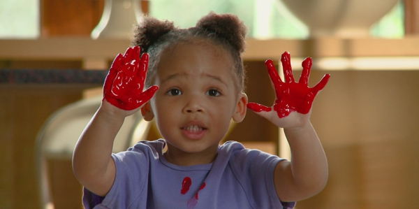 Mit Kindern basteln 8 Bastelideen für Kleinkinder im Alter von 2-3 Jahren