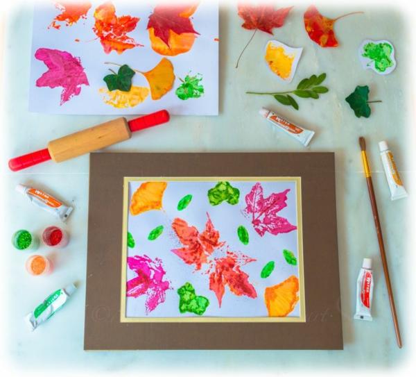 Mit Kindern basteln kreative Bastelideen im Überblick