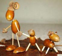 Deko mit Eicheln- natürliche Inspiration in der schönsten Jahreszeit