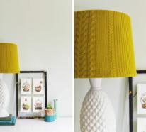 Lampenschirm basteln – 3 Anleitungen und mehr als 70 Ideen