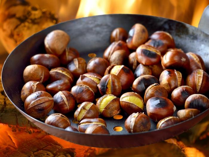 maronen rezepte kandierte maronen italienisch im backofen