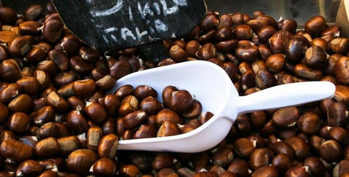 maronen rezepte kandierte maronen italienisch maronen im backofen