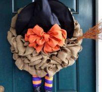 Türkranz  zu Halloween – ein Muss für Ihre ausgefallene Eingangsdeko