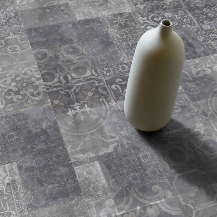 vinylboden küche baige lila