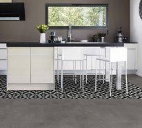 Vinylboden Küche- für alle Freunde der Retromode