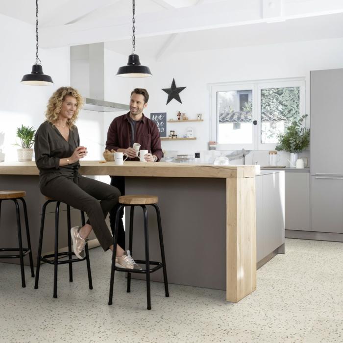 vinylboden küche baige praktisch